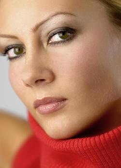 Макияж для темно зеленых глаз