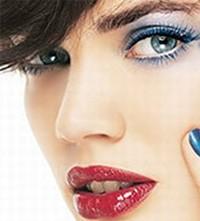 Макияж для зелёно-голубых глаз