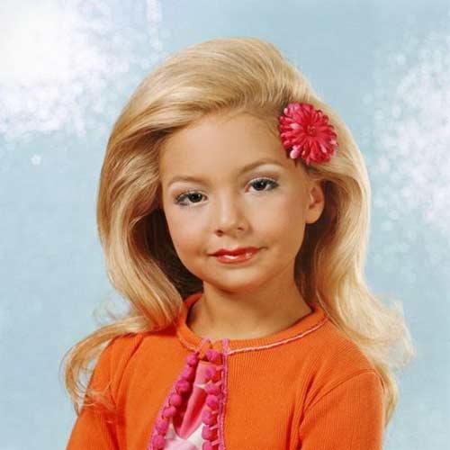 Детский макияж: почти взрослая красавица