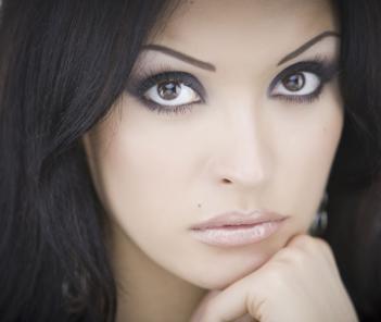 макияж для миндалевидных глаз фото