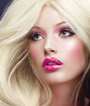 Макияж глаз в стиле Барби