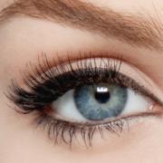 Mакияж серо-голубых глаз, фото