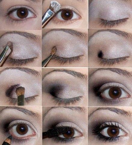 Макияж глаз, фото-урок | Все о макияже ...