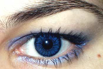 глаза фото синие
