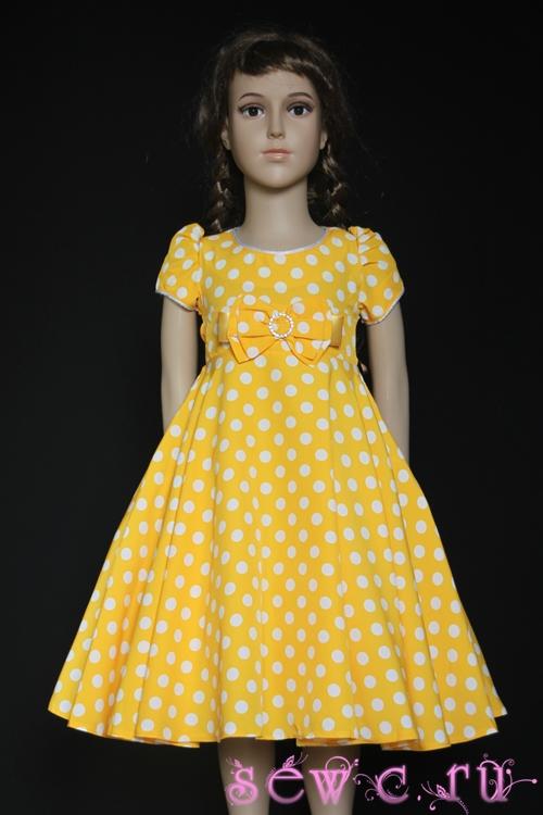 bb18572f64f Нарядные платья для девочек в магазине Sewc.ru
