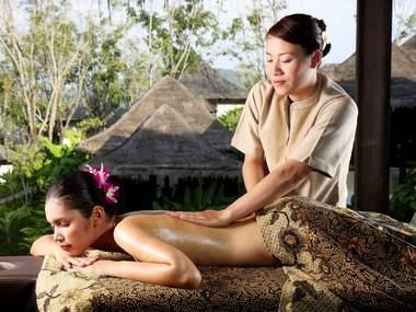 Посещение спа салона в Таиланде