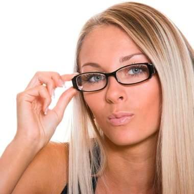 Очки не беда для макияжа