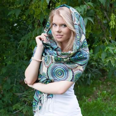 Виды женского платка
