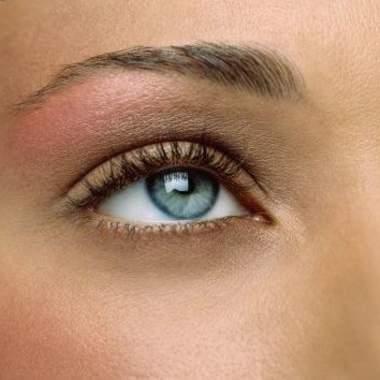Макияж серо-зеленых глаз, фото
