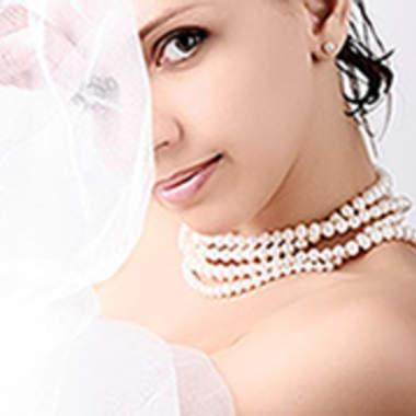 Оригинальный свадебный макияж