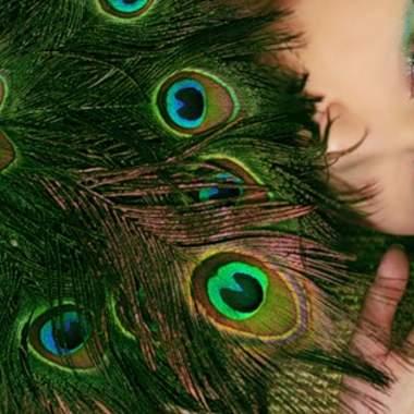 Макияж для зеленых глаз русых