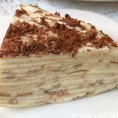 Не хотите отнести мастерам по маникюру блинный торт с сметанным кремом?