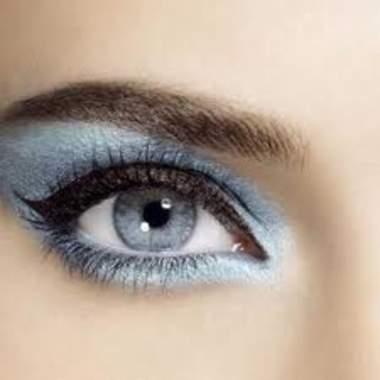 Основные цвета для серых глаз