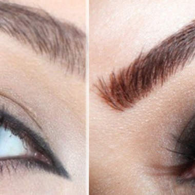 Как красиво накрасить глаза черными тенями