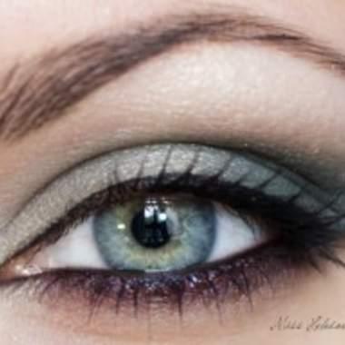 Макияж серо зеленых глаз фото