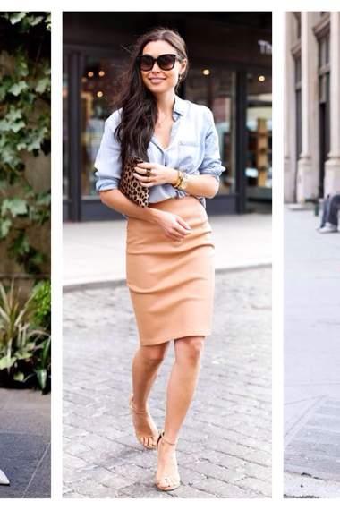 Выбрать обувь под юбку карандаш