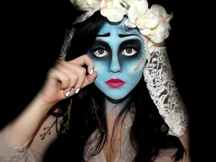 Косметика для создания макияжа на Хэллоуин