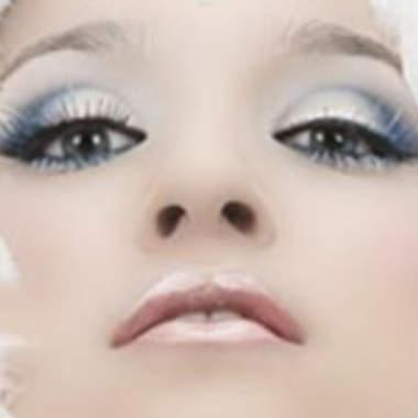 Макияж для голубых глаз поэтапно