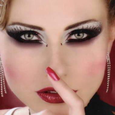 Арабский макияж для карих глаз