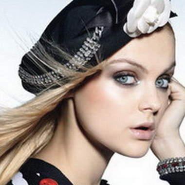 Вечерний макияж для серых глаз