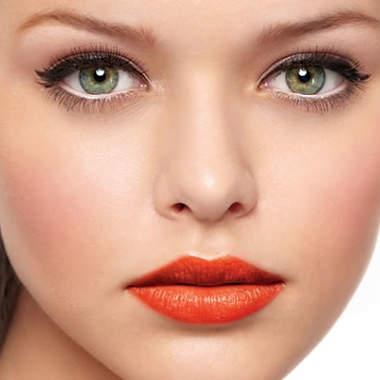 Макияж каре-зеленых глаз, фото